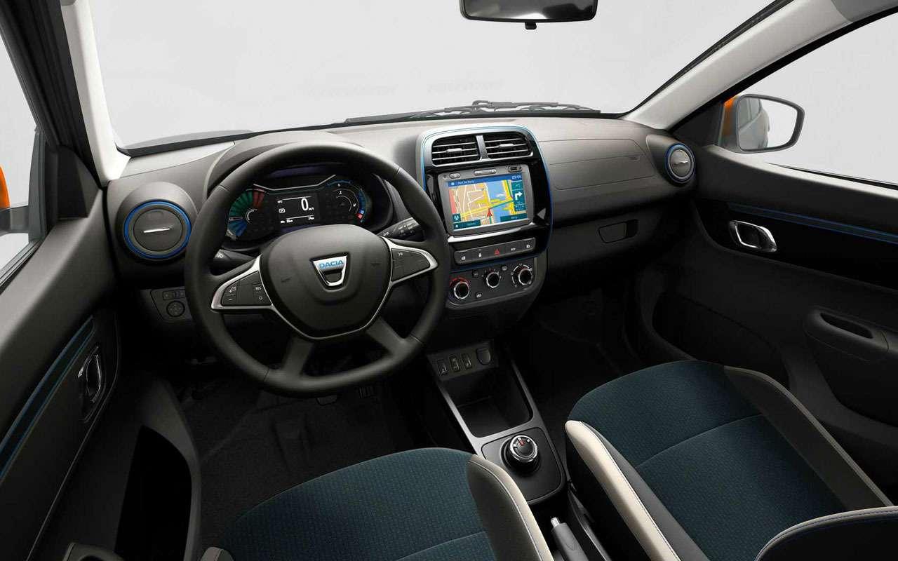 Renault показала мини-кроссовер Spring— фото 1231058