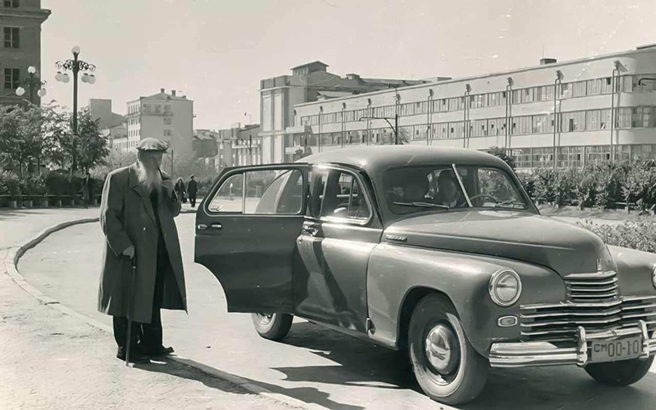 Автомобили советской богемы— как она добывала иномарки— фото 1101117