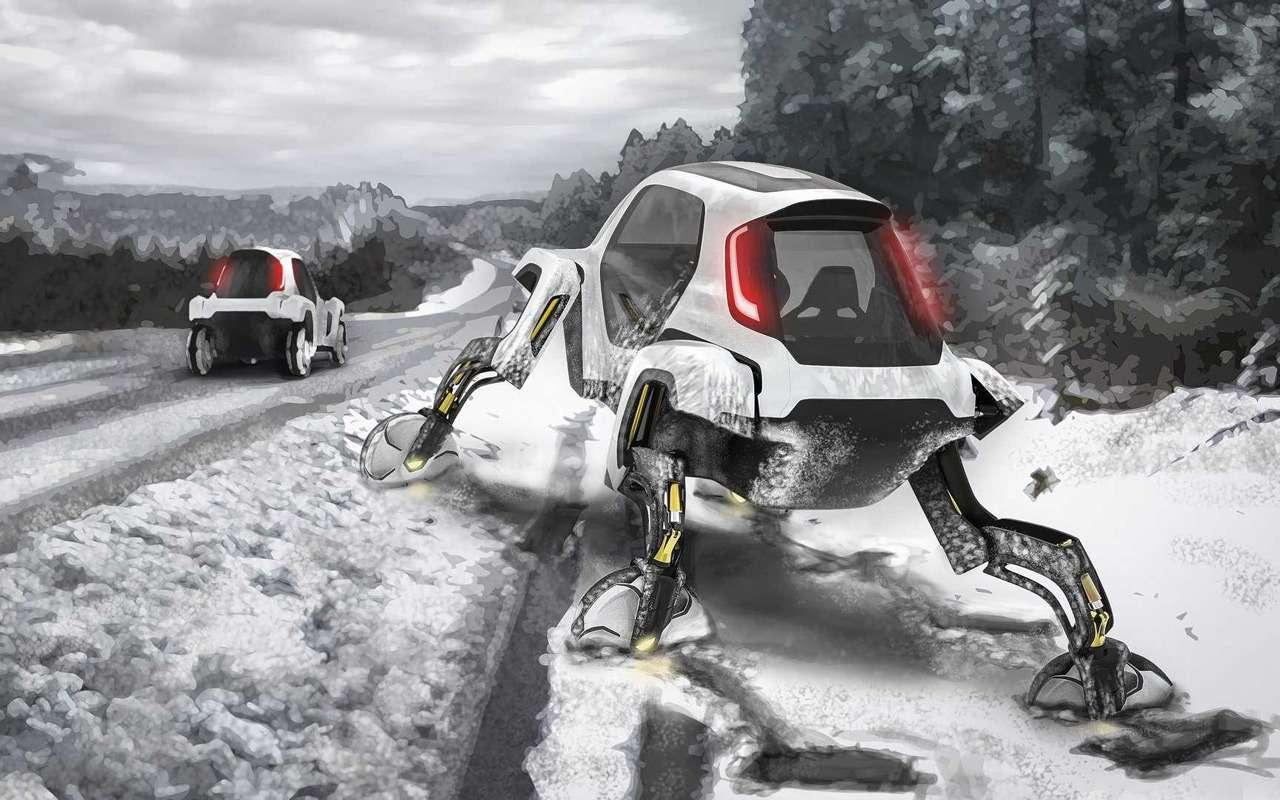 Hyundai представила шагающий автомобиль, или «Мудрые боги выдумали ноги»— фото 938703