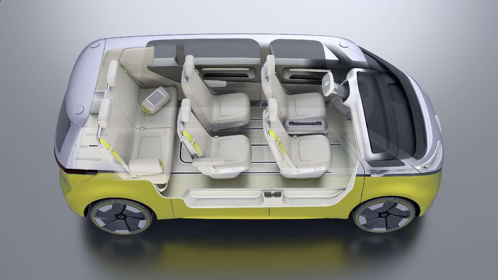 Volkswagen I.D.Buzz: между хиппи ихипстерами— фото 690417