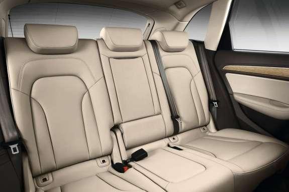 Facelifted Audi Q5inside 2