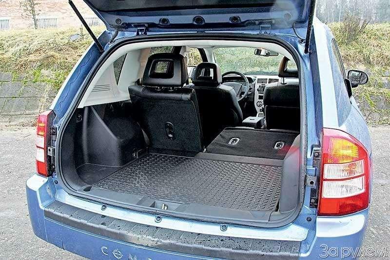 Тест Jeep Compass, Kia Sportage. Смешать, ноне взбалтывать— фото 70571