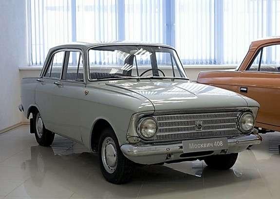 Москвич-408 ижевской сборки