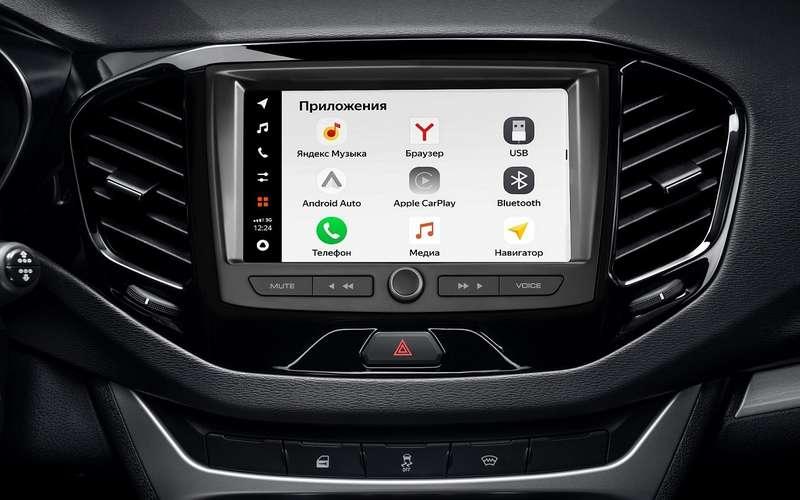 Стартовали продажи Lada Vesta иXRAY сновой мультимедиа, есть цены