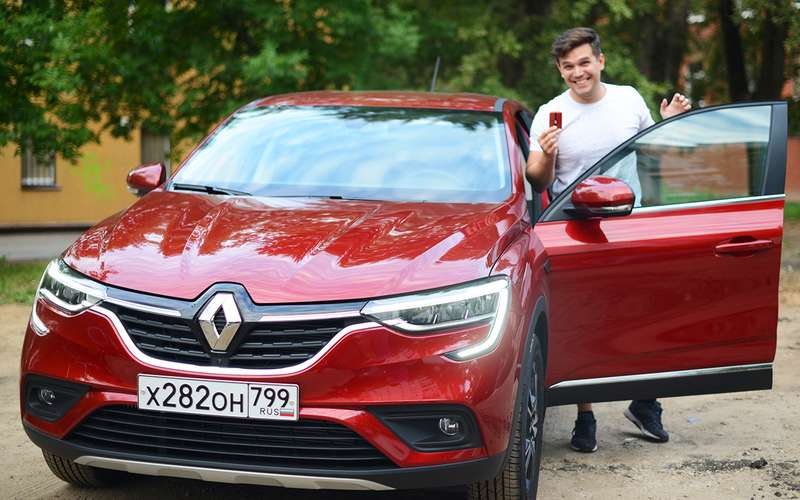 Тест-драйв сдоставкой надом: квам едет Renault Arkana!