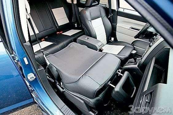 Тест Jeep Compass, Kia Sportage. Смешать, ноне взбалтывать— фото 70574
