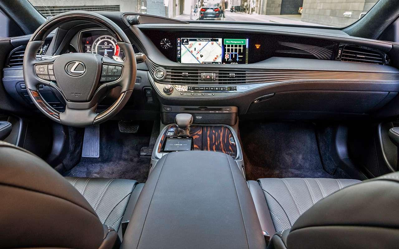 Новый Lexus LS— тест-драйв ЗР— фото 812428