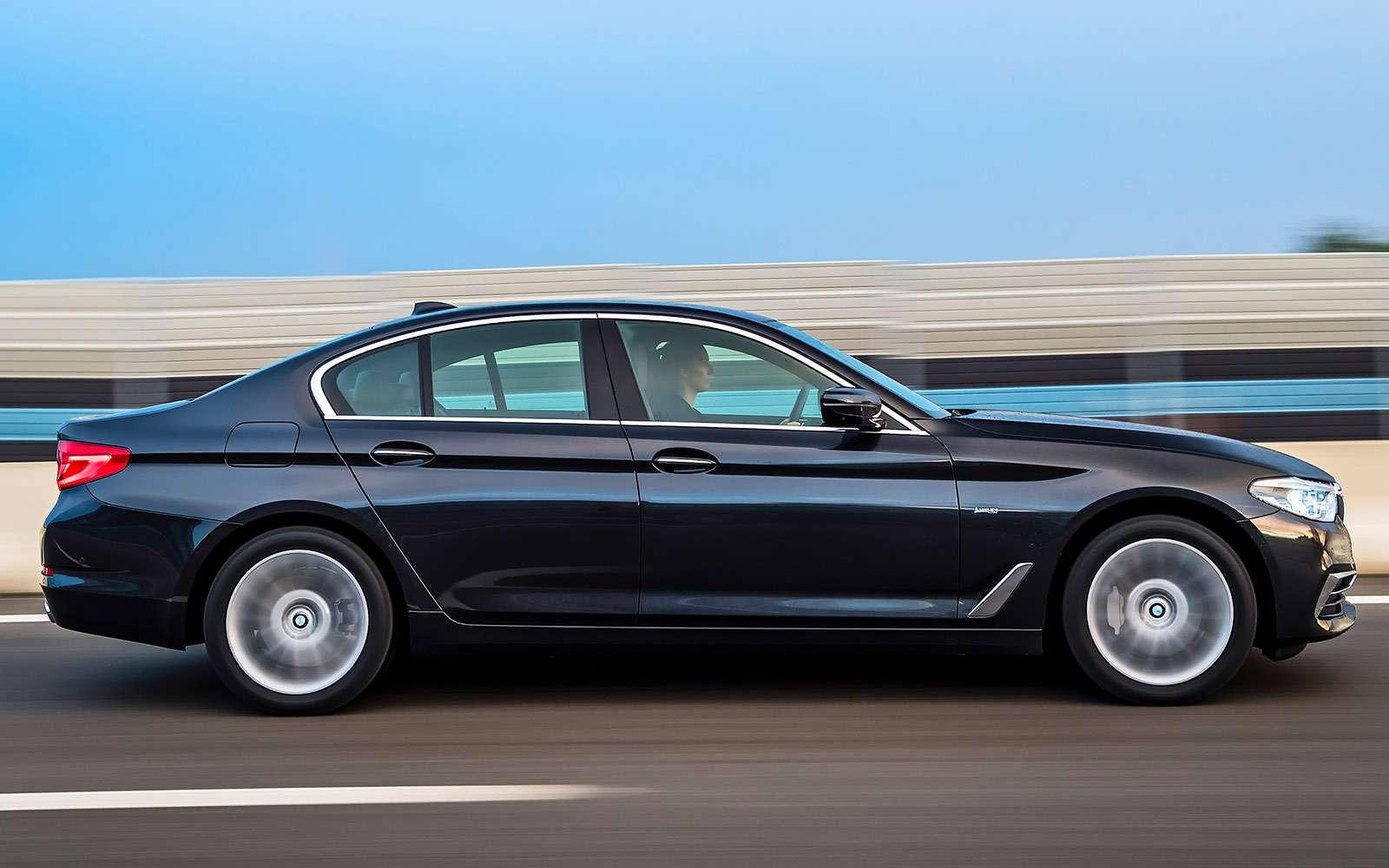 Тест новой «пятерки» BMW: большой брат— фото 685113