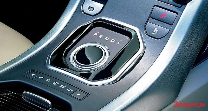 Range Rover Evoque— салон