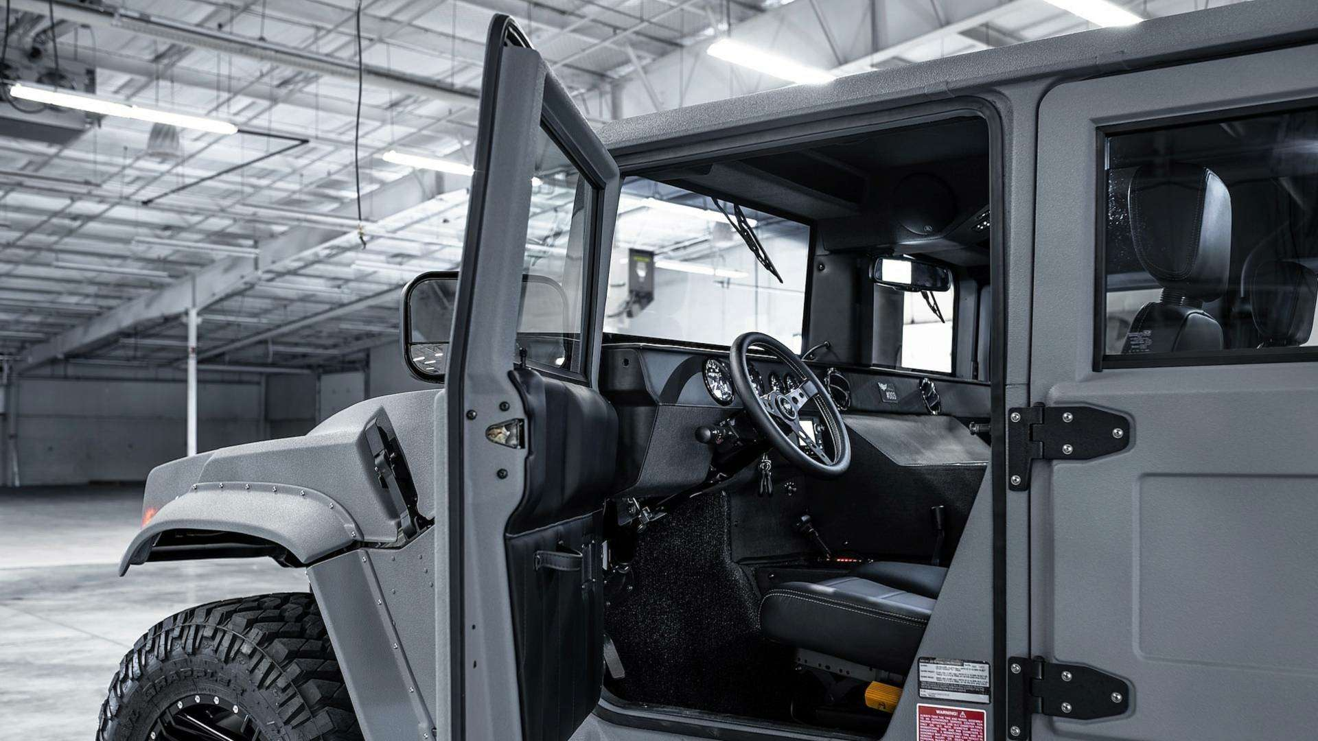 Возвращение «кувалды»: улучшенный Hummer H1поступил впродажу— фото 894626