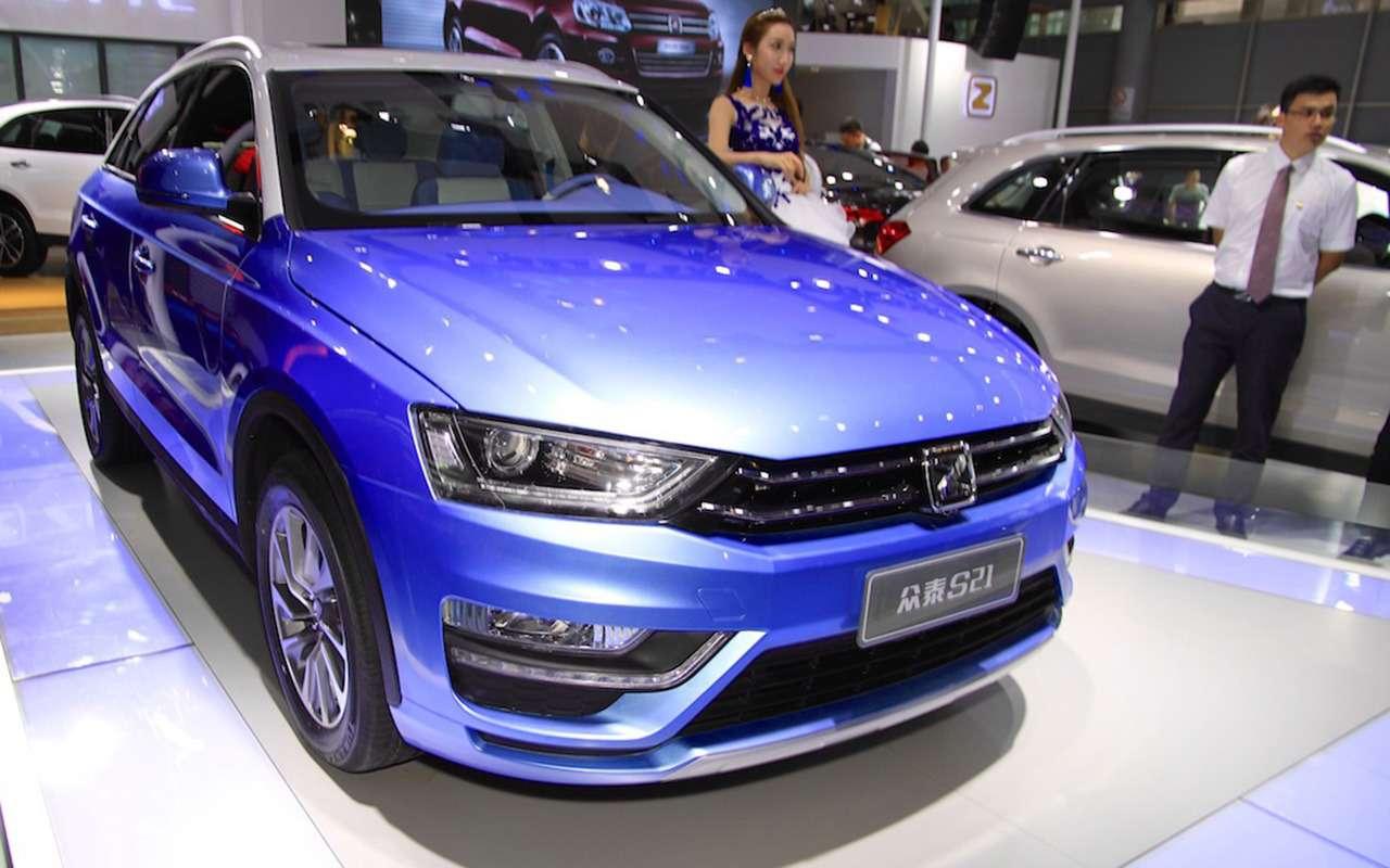 Этибессовестные китайцы: автомобили-клоны— фото 1035168