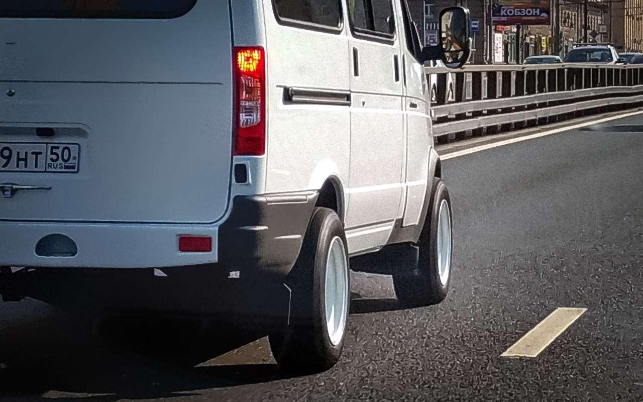 А что, если поставить колеса побольше?— экспертиза ЗР— фото 792224