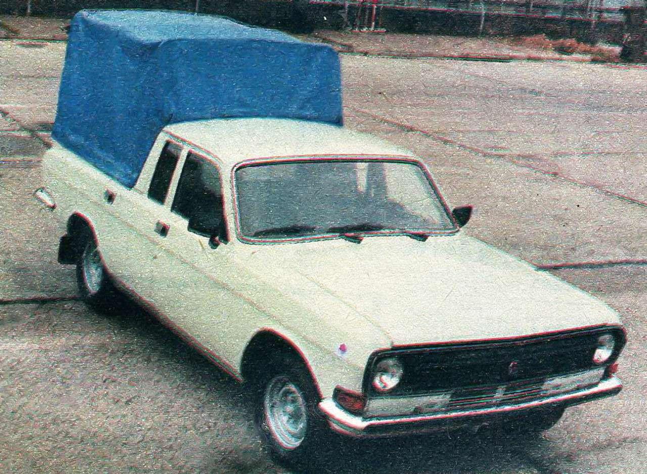 Неизвестная Волга — 15редчайших версий ГАЗ-24— фото 988792
