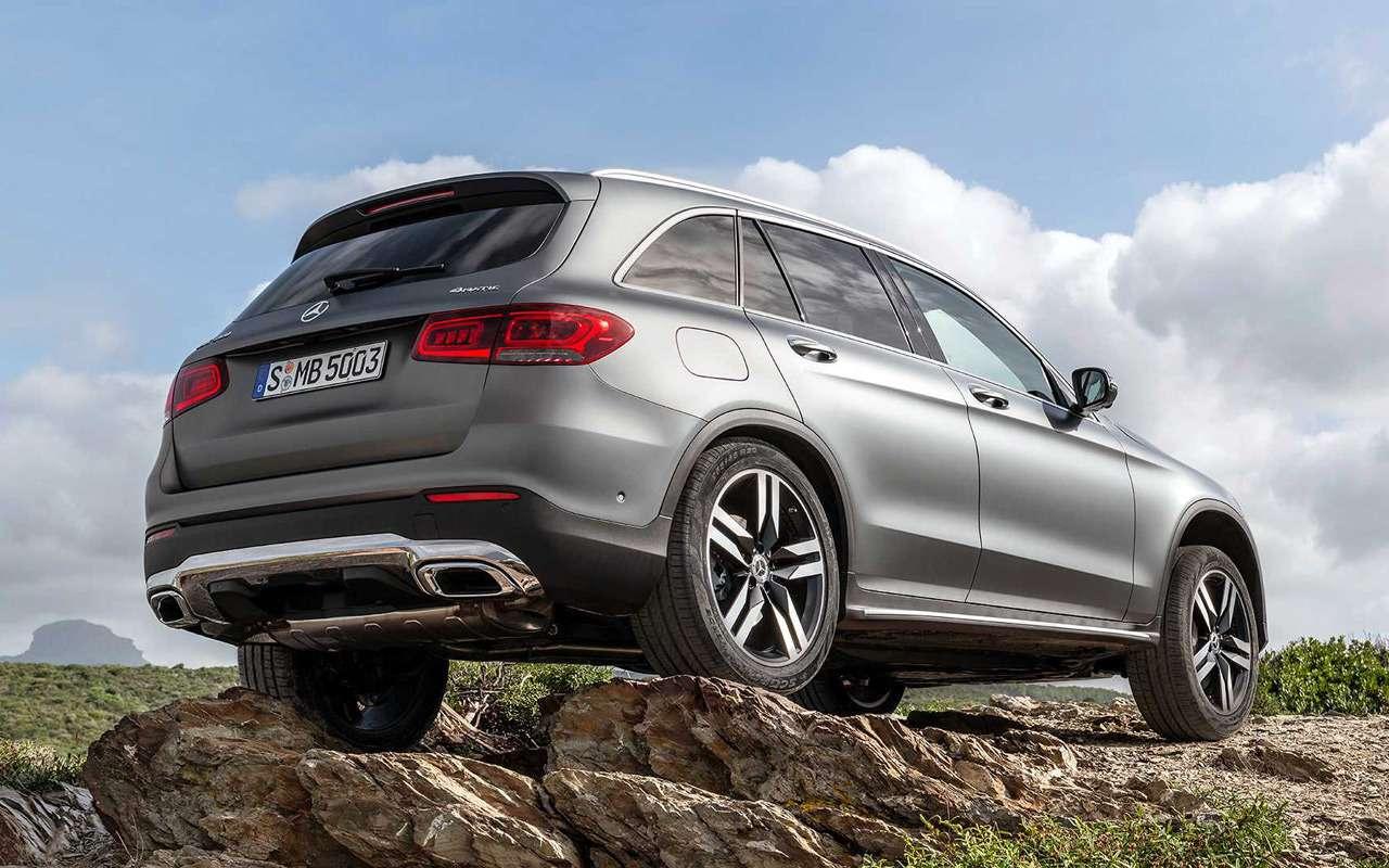 Обновленный Mercedes-Benz GLC: 10отличий— фото 953431