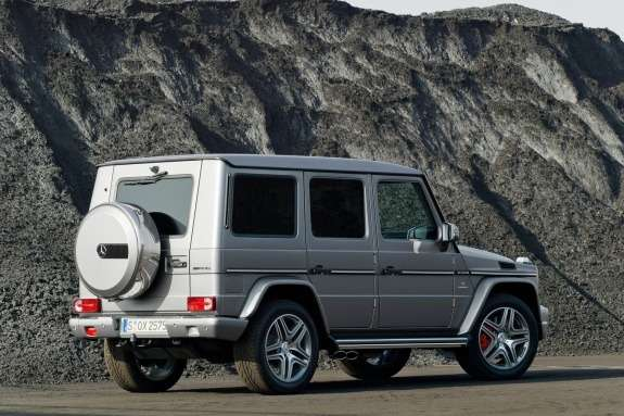 Mercedes-Benz G63AMG side-rear view