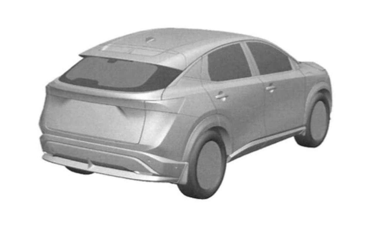 Первые изображения нового кроссовера Nissan— фото 1119832