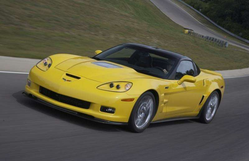 Chevrolet Corvette ZR1в фотографиях— фото 348190
