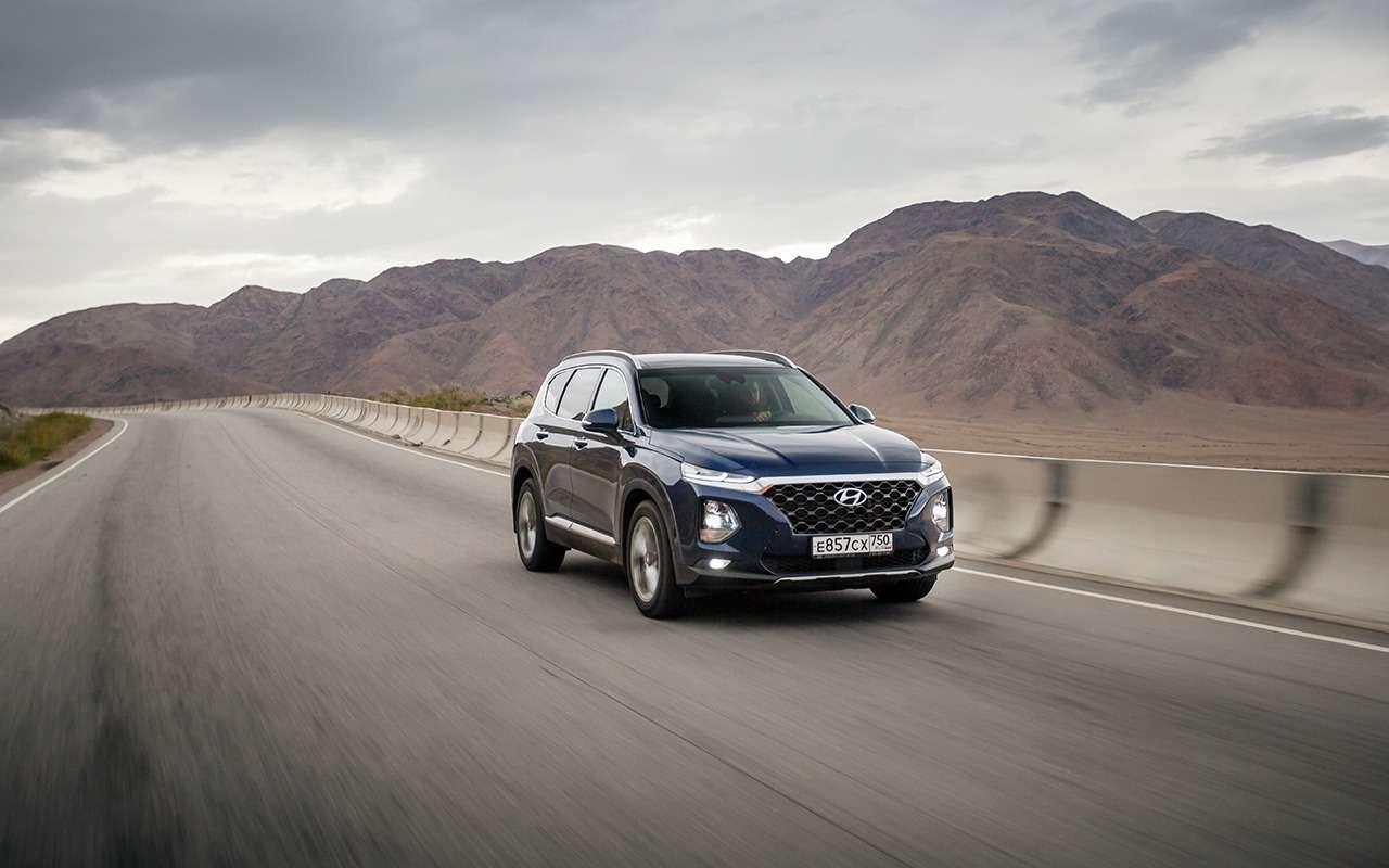 Hyundai Santa Fe: 5плюсов и2особенности, которые нужно учесть перед покупкой— фото 920734