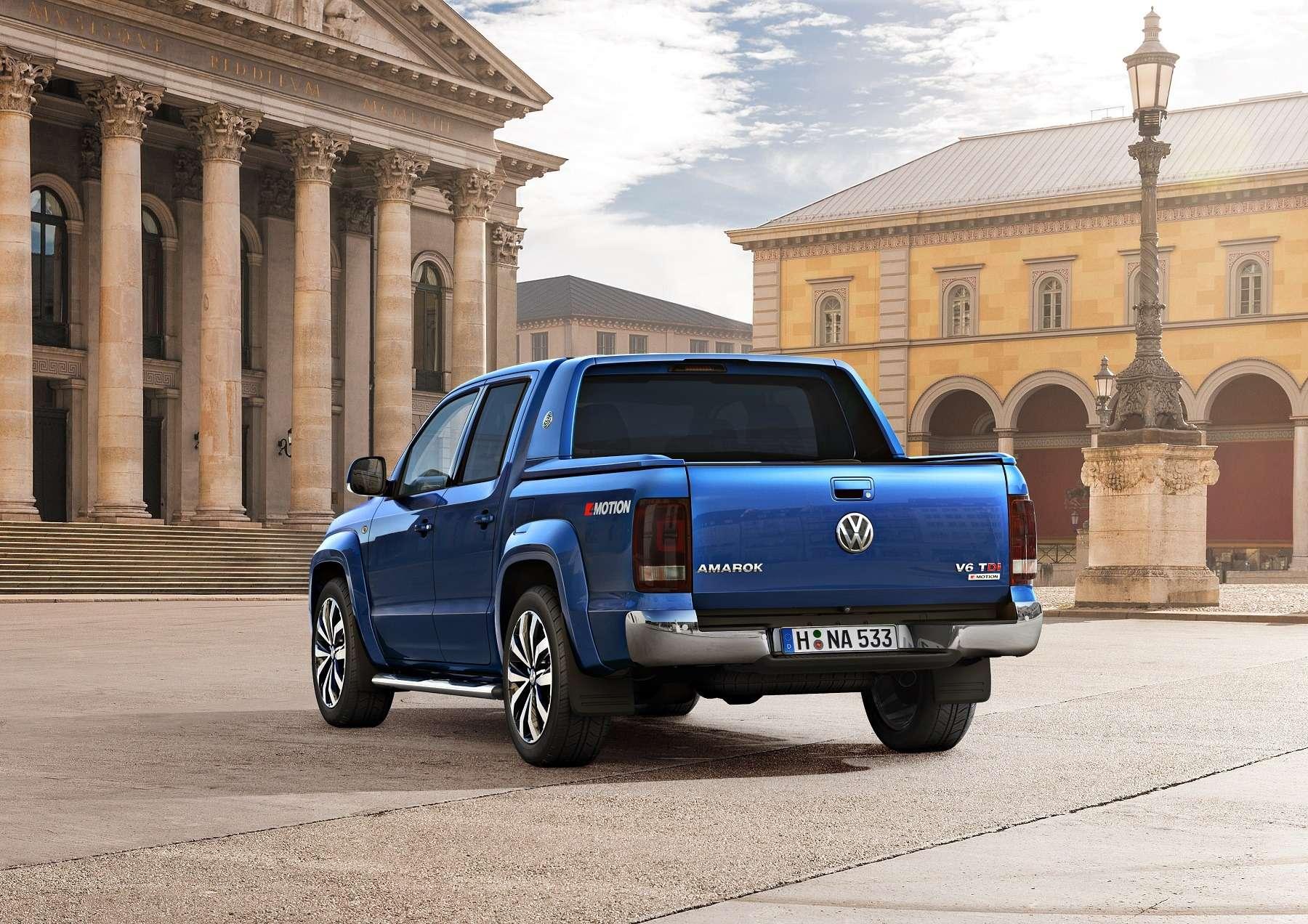 Volkswagen Amarok пригласил вмир роскоши— фото 591559