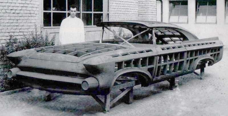 Мастер-модель Norseman, покоторой создавались наружные панели кузова концепт-кара.