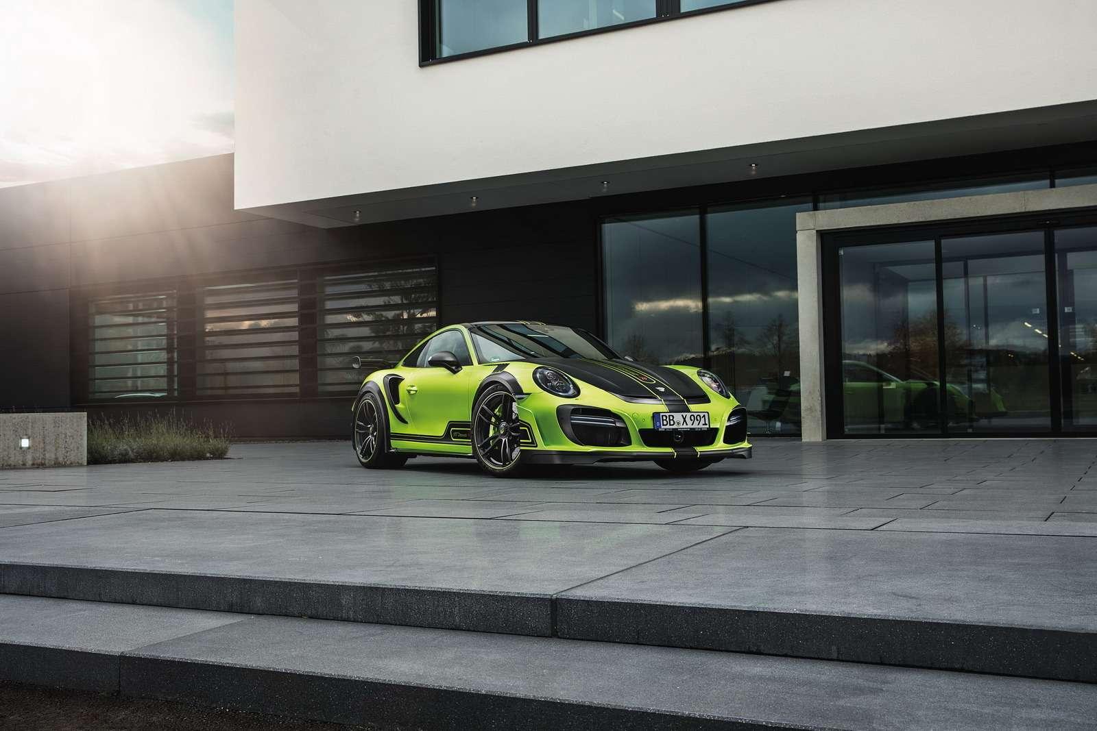 Искусство устрашения: Porsche 911 GTStreetR пройдет подорогам огнем имечом— фото 660010