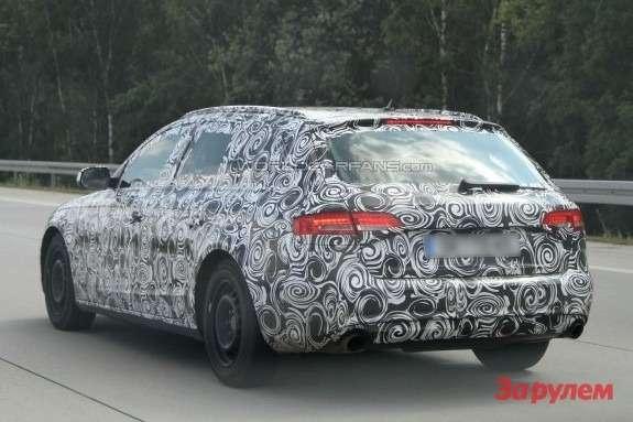 Audi A4Avant side-rear view