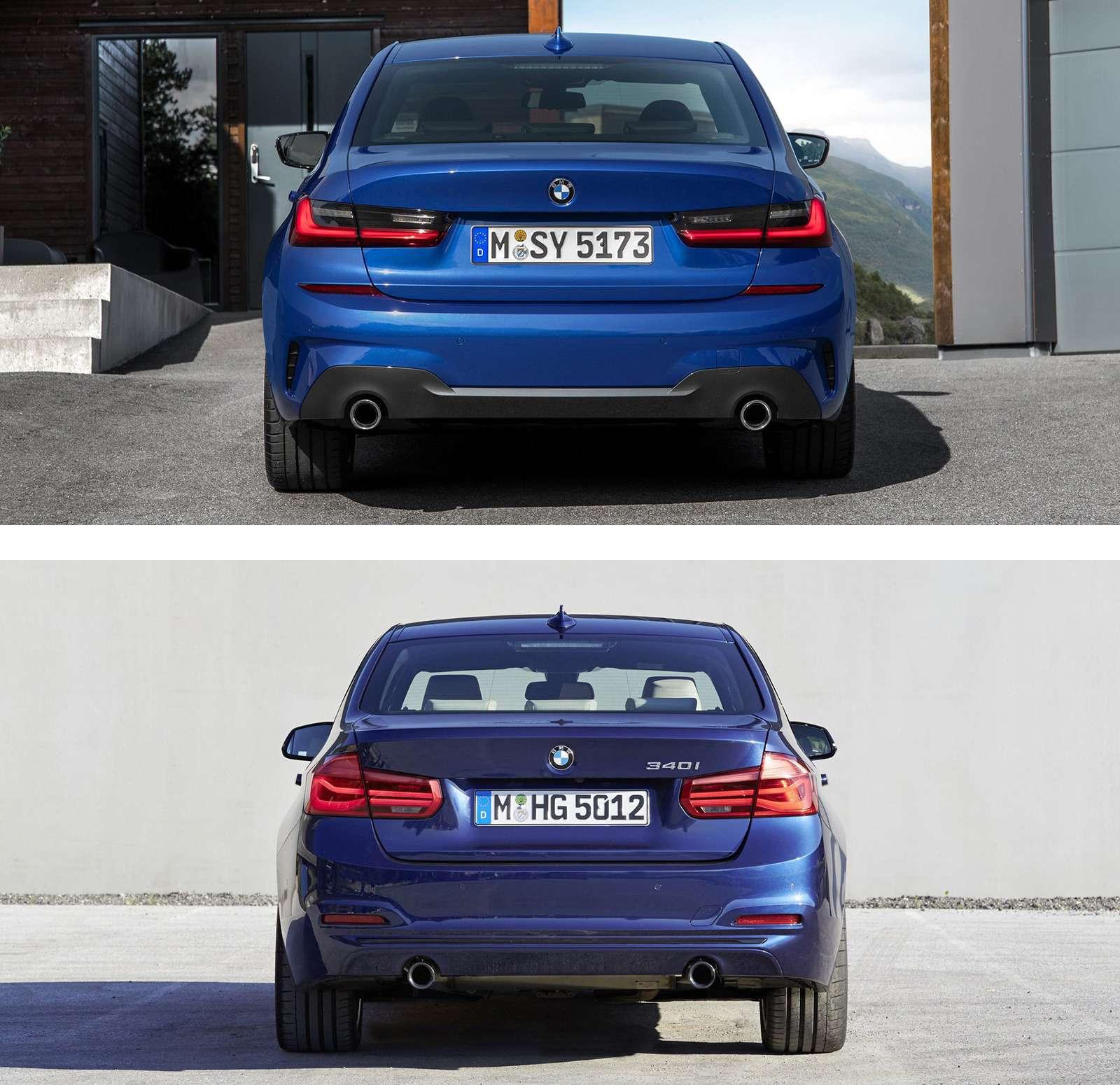Новая BMW 3-й серии против старой: какая красивее?— фото 912571