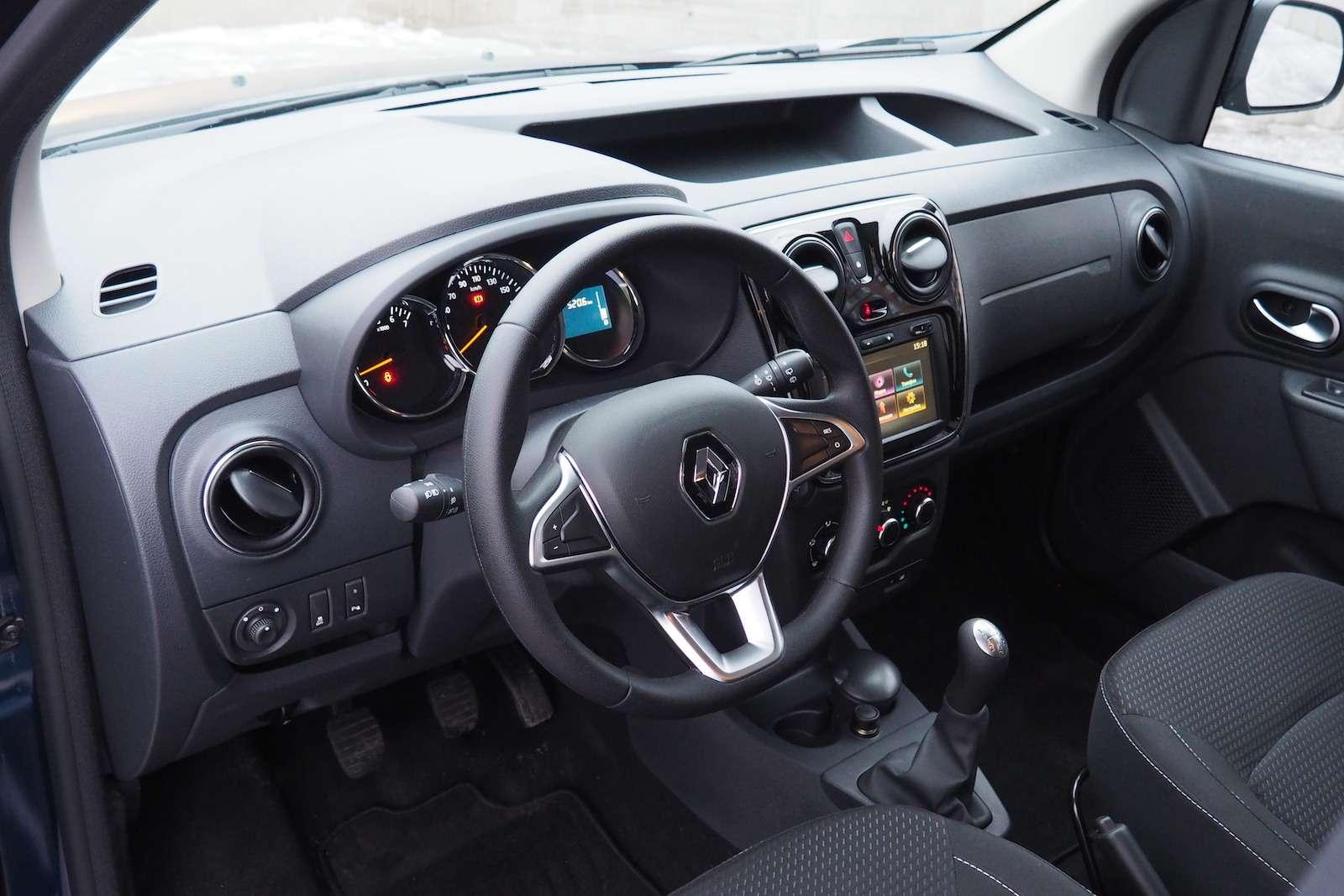 Renault Dokker— первый тест ипервые вопросы— фото 825728