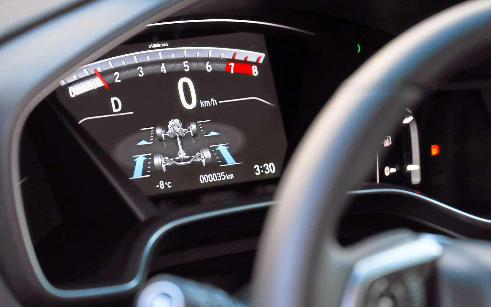 Заглядываем подюбку новой Хонде CR-V— фото 695111