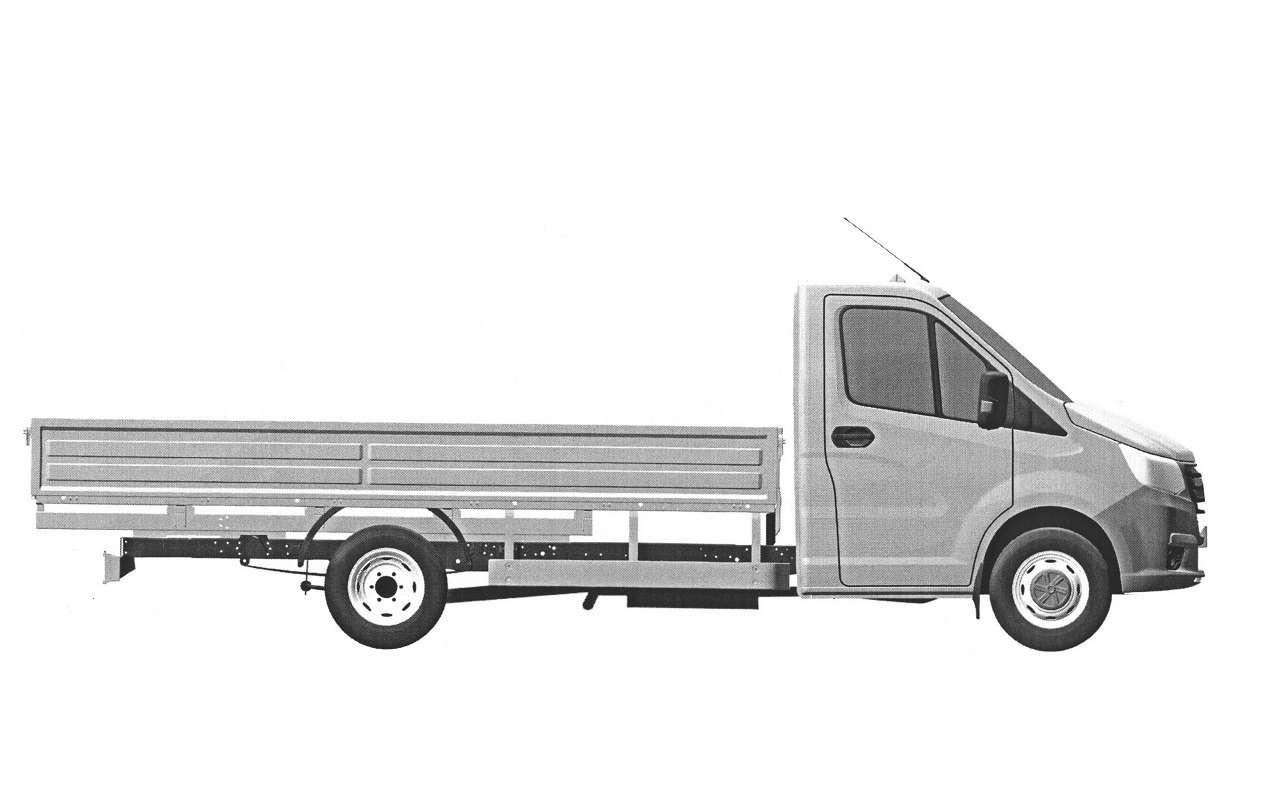 ГАЗзапатентовал внешность новой грузовой ГАЗели— фото 1125666