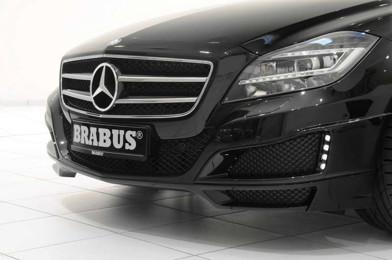 Brabus покажет купе CLS смягким бампером