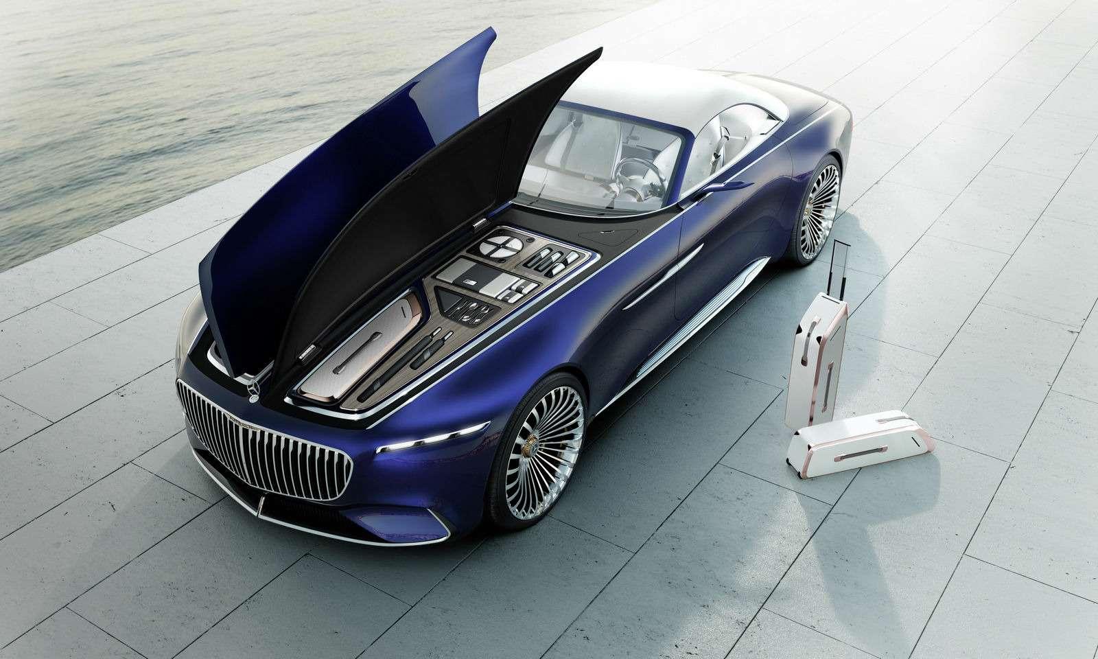 Пикник подкапотом: представлен кабриолет Mercedes-Maybach Vision 6— фото 786187