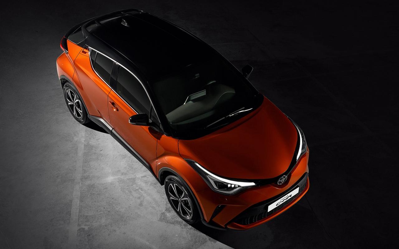 Обновленный Toyota C-HR: начался прием заказов— фото 1011950