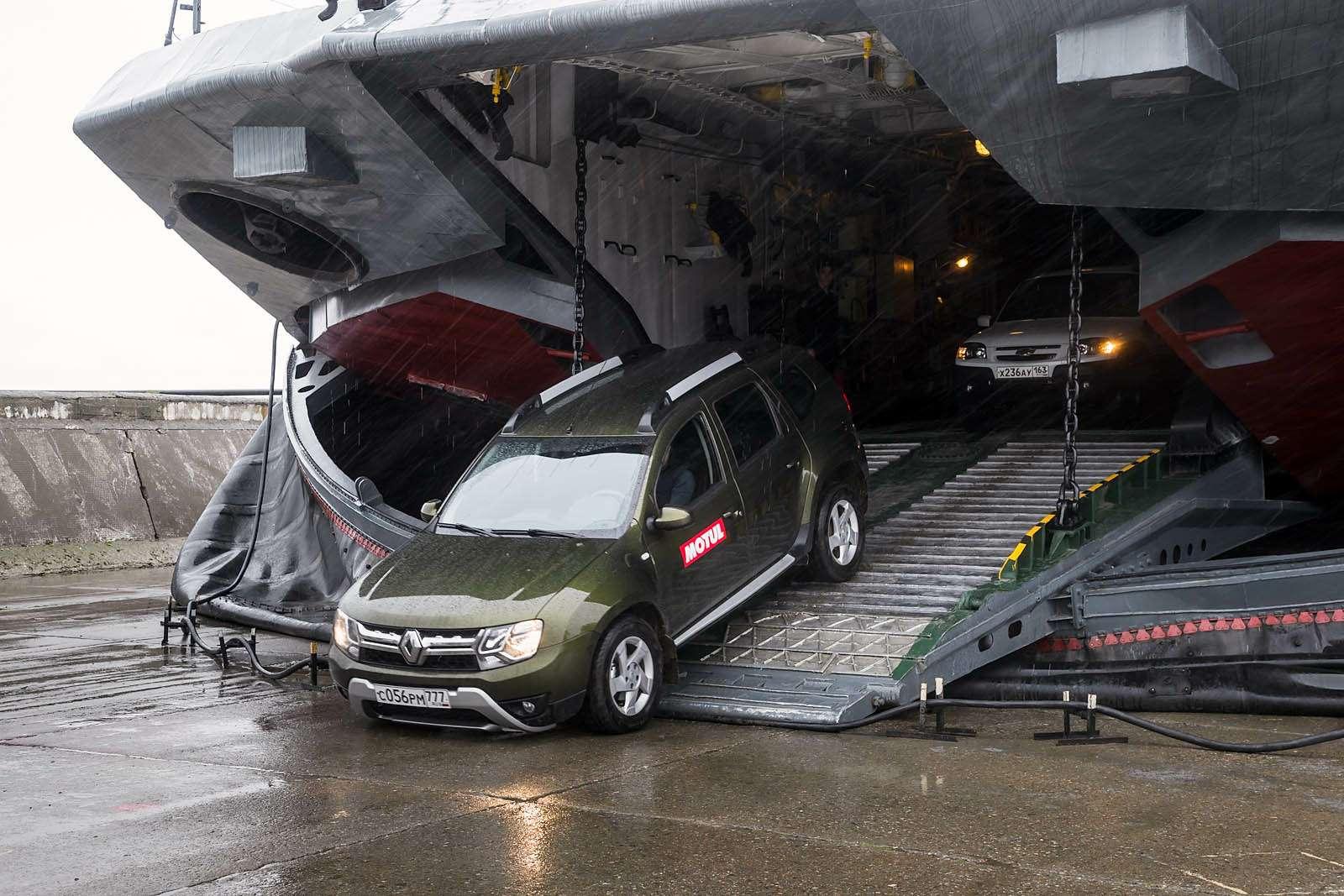 Renault Duster навоенном полигоне идорогах Прибалтики— фото 613435