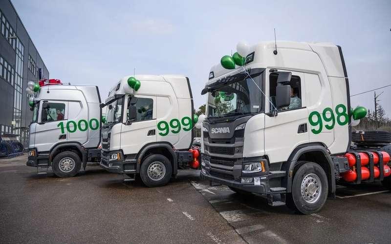 КАМАЗ вотстающих? Scania рассказала освоих газомоторных тягачах