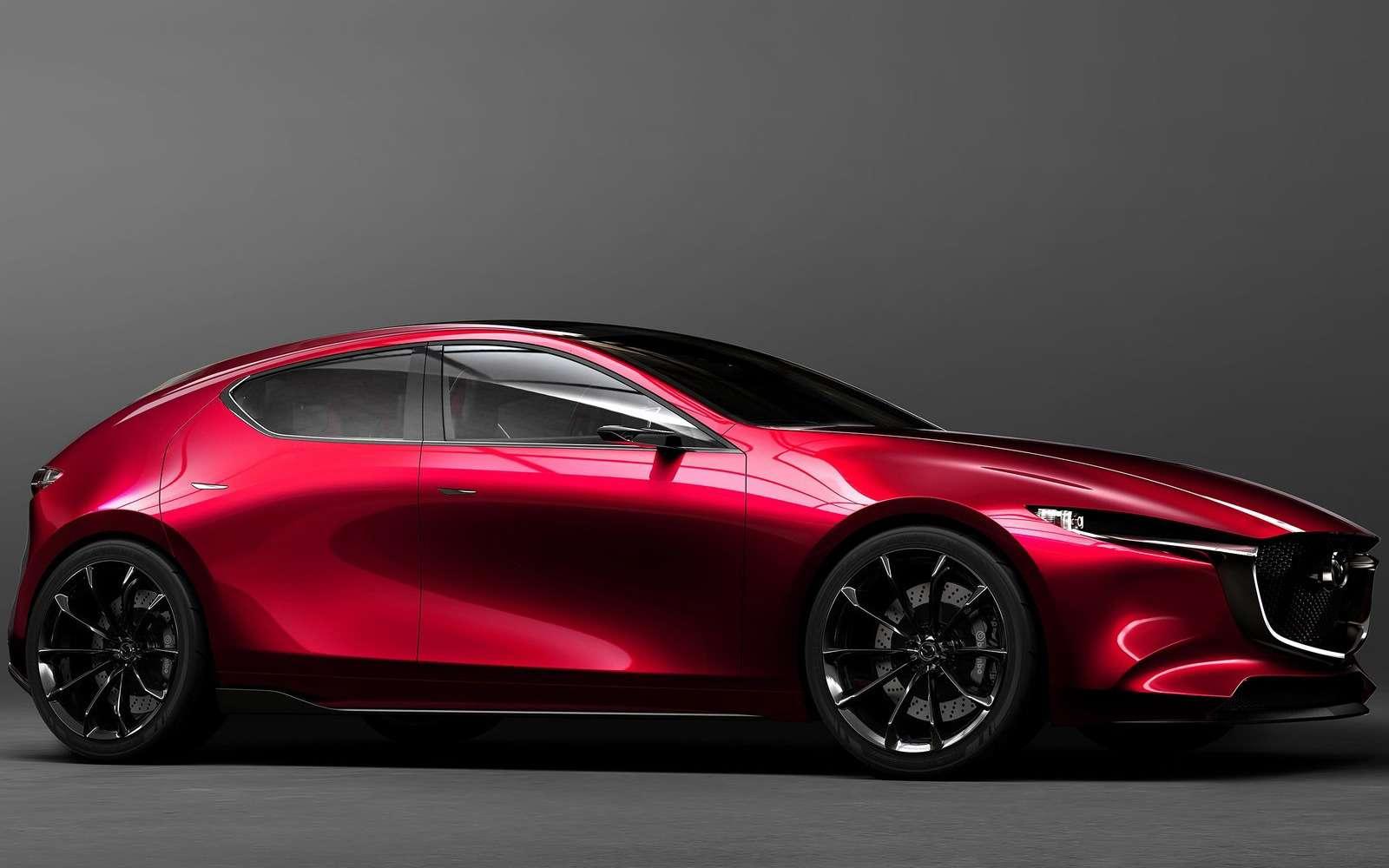 Новая Mazda 3: мызнаем, как она будет выглядеть— фото 809159