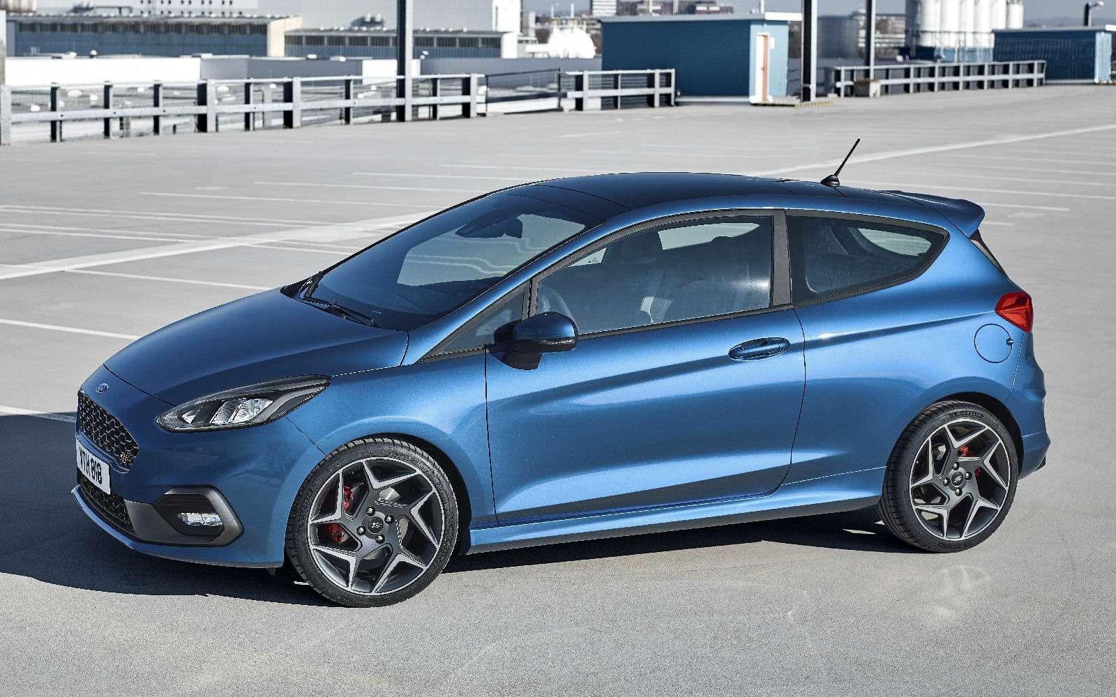 Новый Ford Fiesta ST: два «горшка» иодин врезерве— фото 712968