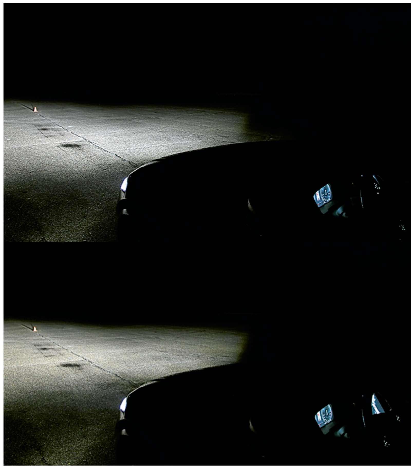 Супертест светодиодных фар: какая из10машин заглянет дальше?— фото 601119