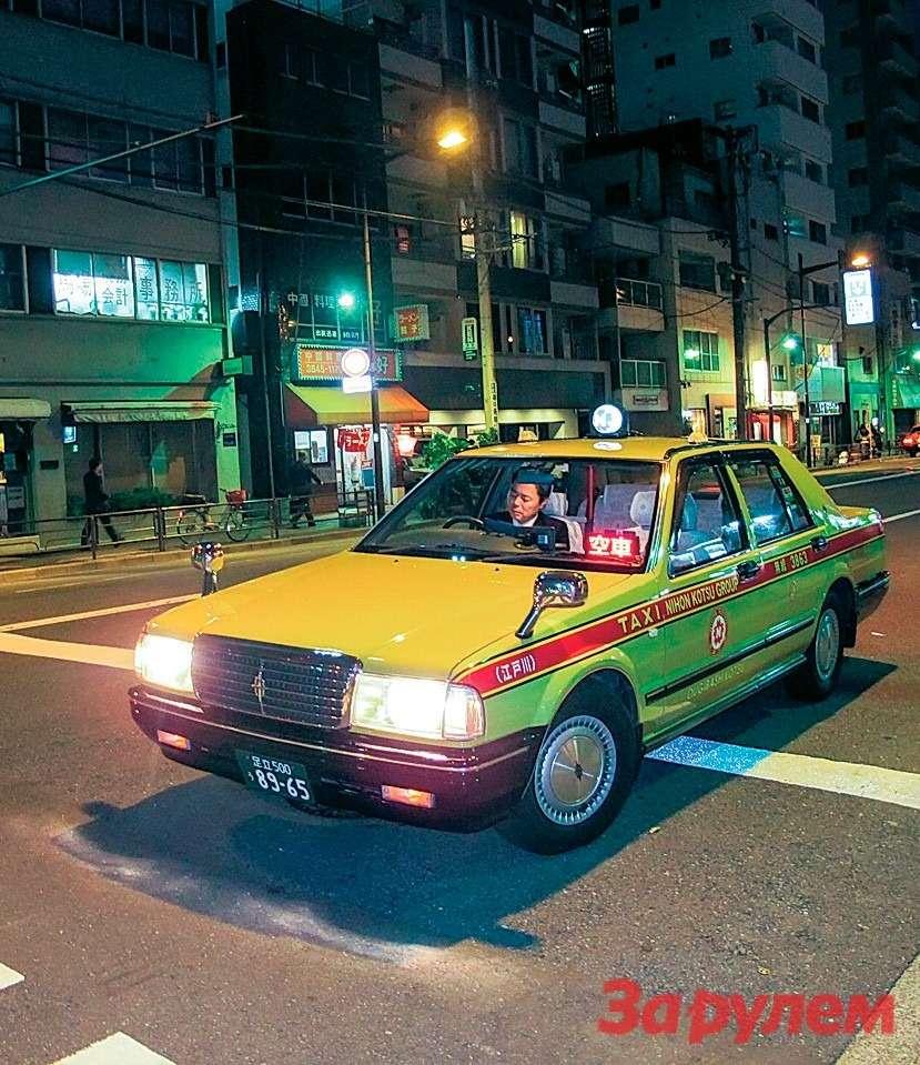 Японский городовой! Дорожное движение вЯпонии— фото 259315