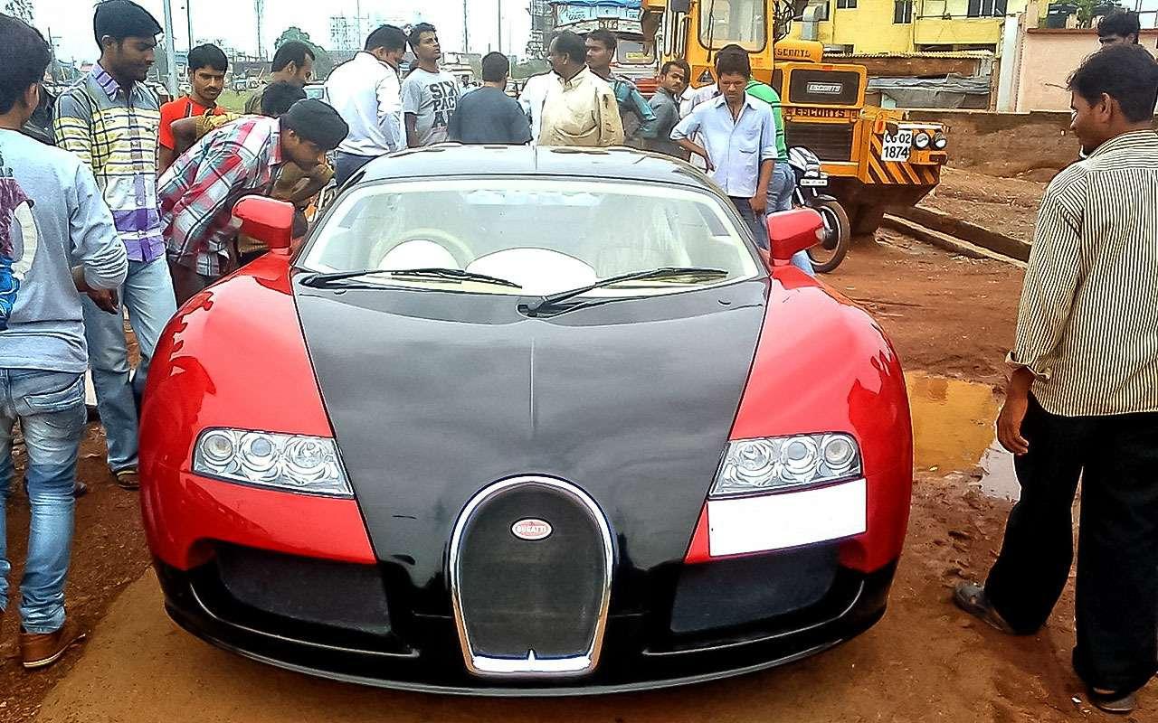 Индийская реплика Bugatti Veyron