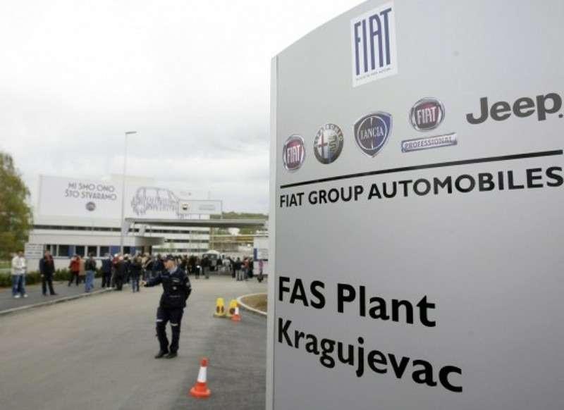 Завод Fiat вСербии