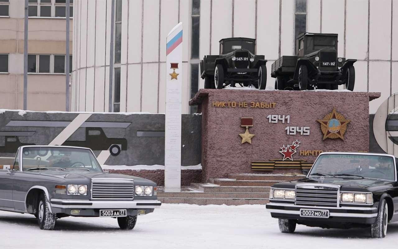 Главный автомобиль Парада Победы: кабриолет Шойгу— фото 864407