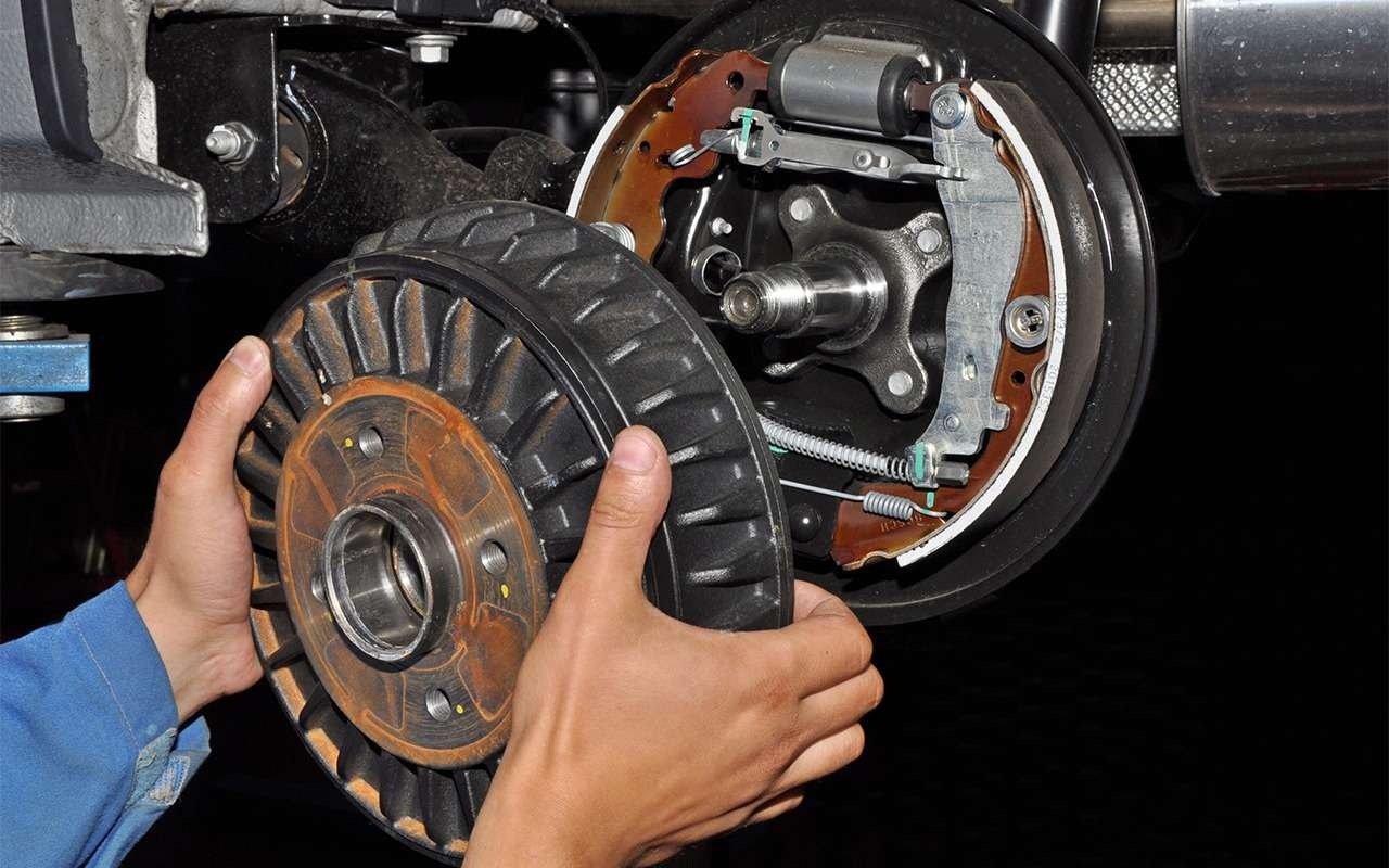 Какие тормоза лучше: барабанные или дисковые?— фото 841467