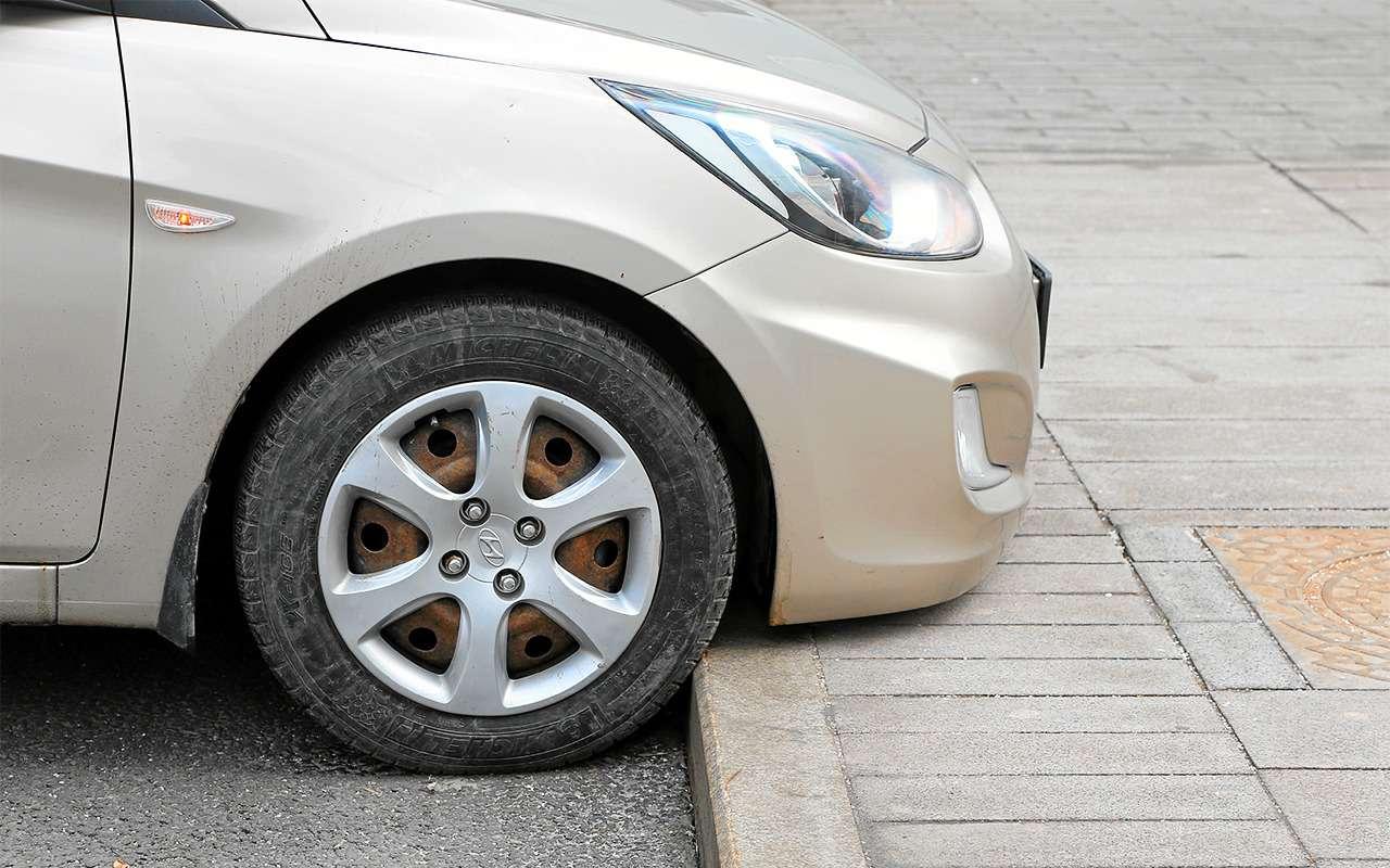 Какзаехать набордюр, чтобы не повредить машину?— фото 862193