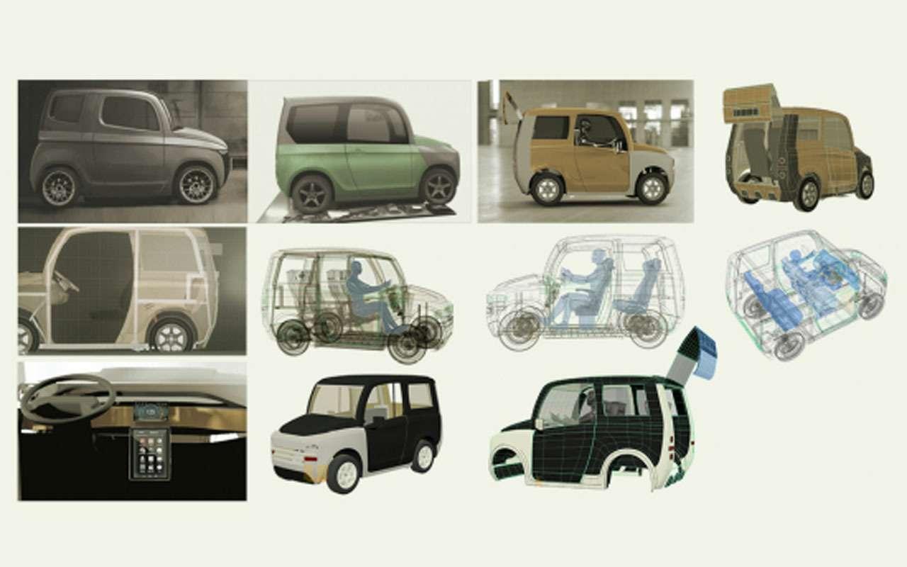 Нашновый автомобиль Zetta: все нестандартные инженерные решения— фото 977241
