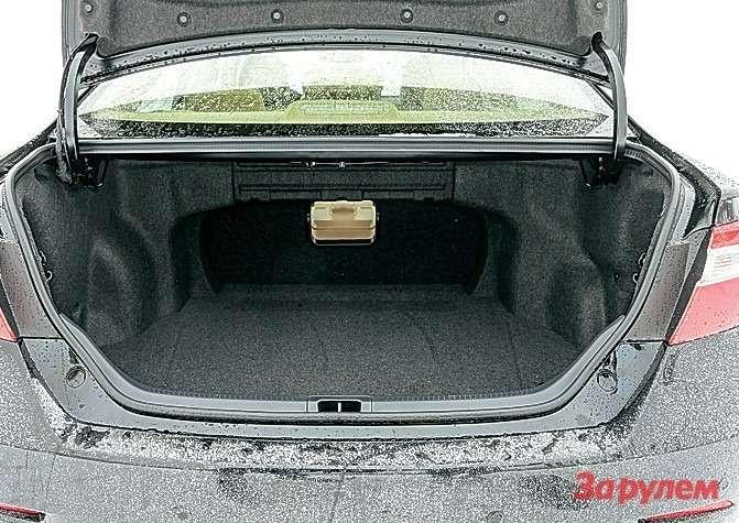 Высота погрузочного борта 720мм. Объем багажника 432л. Спинки сидений нескладываются.