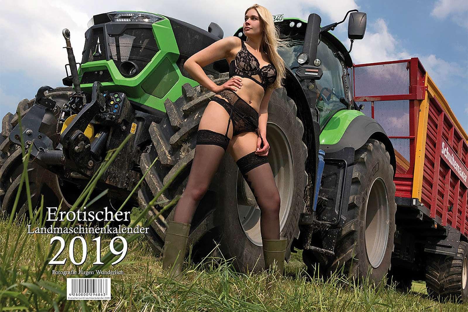 Секс ифермерская техника— провокационный календарь на2019год— фото 938698