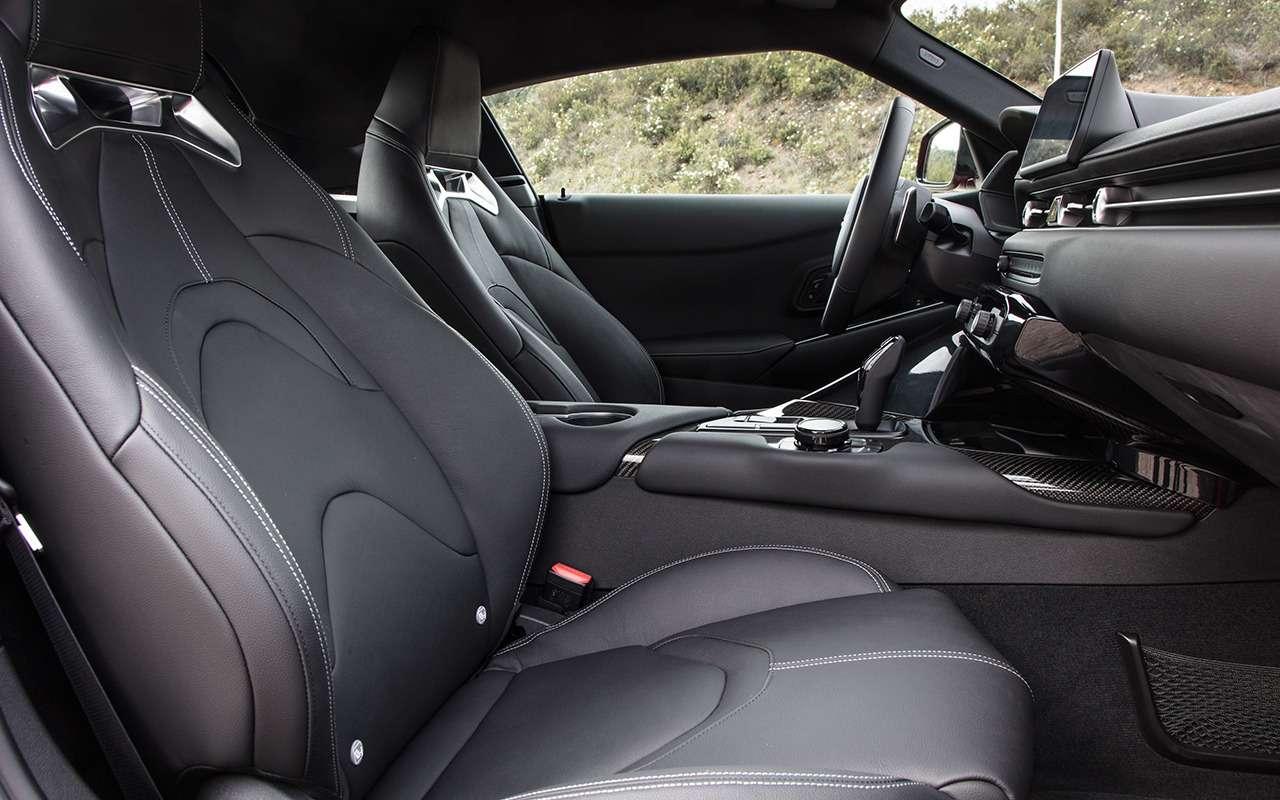 Новая Toyota Supra: комплектации ицены— фото 978219