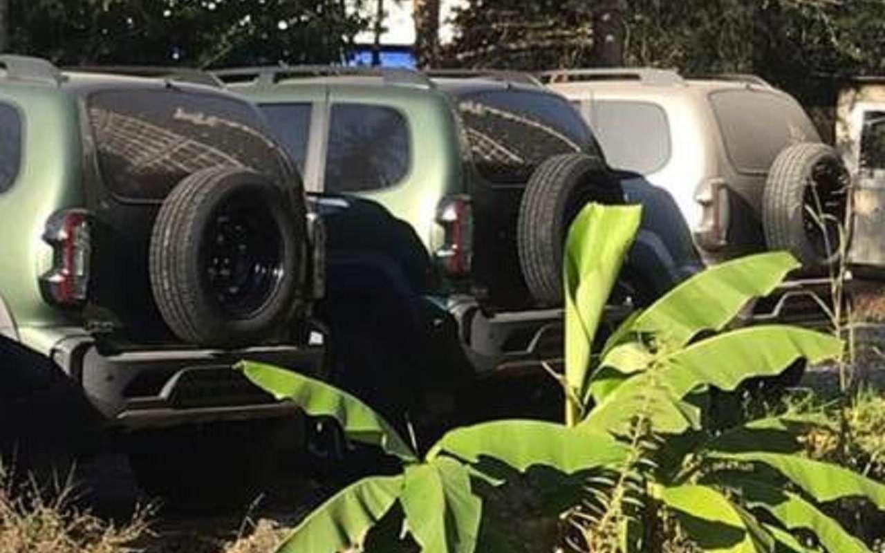 Обновленная Lada Niva: жесткая реакция соцсетей— фото 1206643