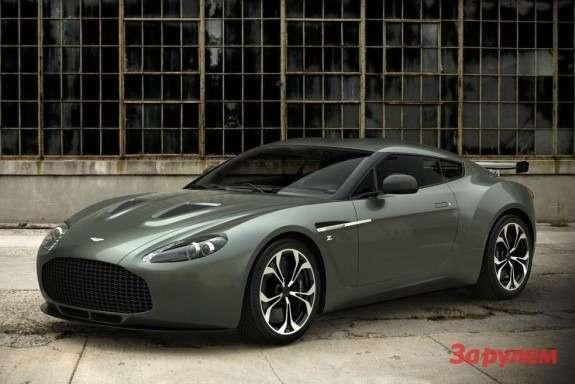 Aston Martin V12 Zagato side-front view